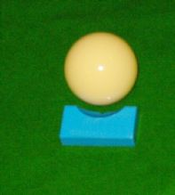 "BRAND NEW 1 7/8"" 47.5mm WHITE POOL TABLE CUE BALL SNOOKER BILLIARDS BALLS"